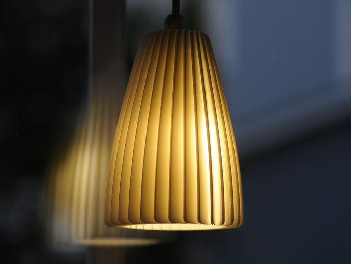 Folded Plastic Lamp Shade By Hakalan   Thingiverse