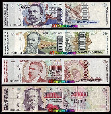 argentina currency   Argentina Money - reviews and photos.