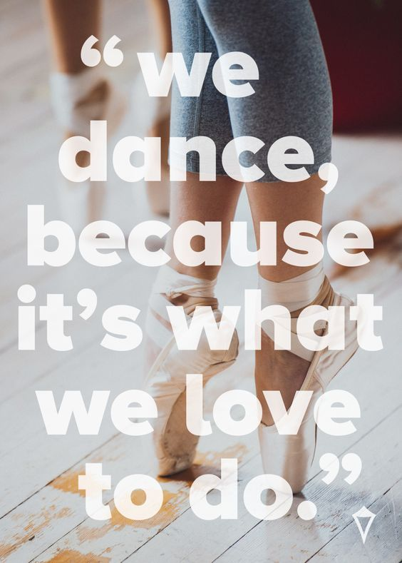 We love everything dance! #dowhatyoulove #thecrazydazy