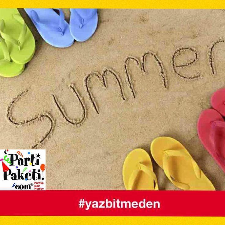 Yaz bitmeden yapilacaklar listesi: -son bir deniz tatili -arkadaslarla piknik -acik havada bir yaz partisi... Sizin listenizde neler var? #yazbitmeden #yaz #yazpartisi #yazeglencesi #yazdan #yaztatili #summer #summertime #summer2015 #summerparty #yaz2015 #parti #party #partizamani #piknik #havuzkeyfi #bahcepartisi #partiürünleri #partimalzemeleri #partitemasi #partifikirleri #partikonsept #instasummer #instamood #instafun #instaparty #partipaketi
