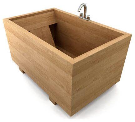 Japanese Ofuro Bathtub - asian - bathtubs - bath-in-wood.com