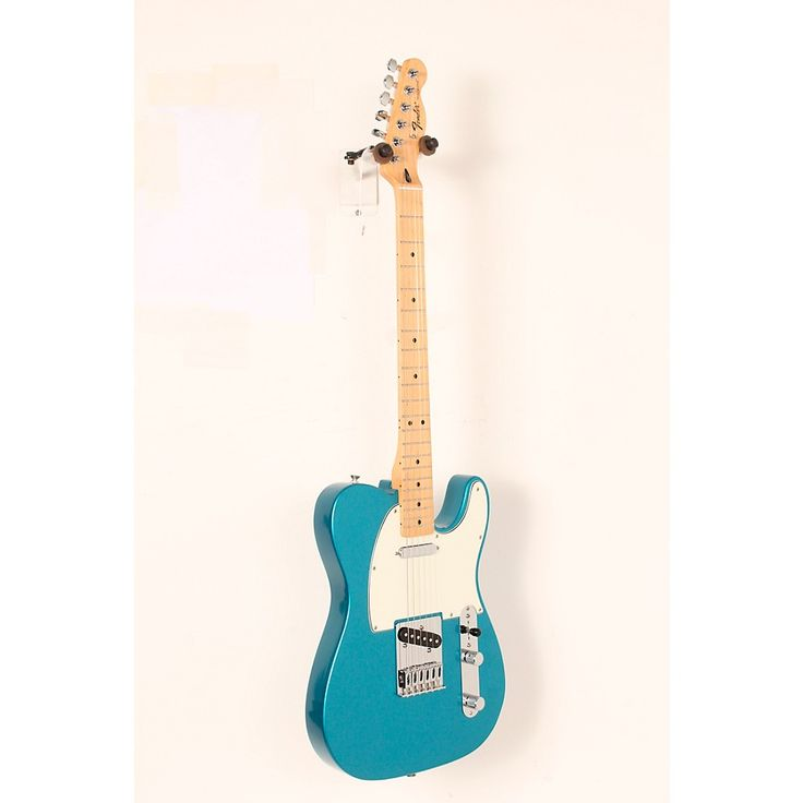 Fender Standard Telecaster Electric Guitar Lake Placid Blue, Gloss Maple Fretboard 888366020081