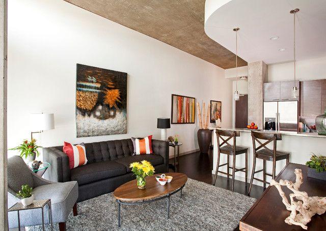 контемпорари для квартиры студии - Поиск в Google
