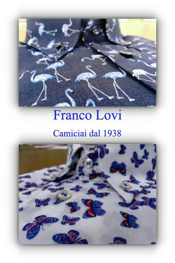Uccelli o farfalle! Franco Lovi accontenta ogni tuo gusto!  Birds or butterflies! Franco Lovi satisfy your every taste!  #Franco #Lovi #camicie #camicia #shirt #MadeinItaly #Italia #Italy #CamiciaiDal1938 #Campania #Napoli #Salerno #Fashion #Design #SuMisura #Sartoria #Italiana #pochette #camiceria #Primavera #Estate #2015 #Spring #Summer #uccelli #farfalle #birds #butterflies
