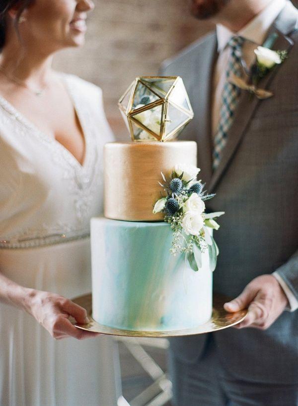 geometric inspired wedding ideas on Every Last Detail