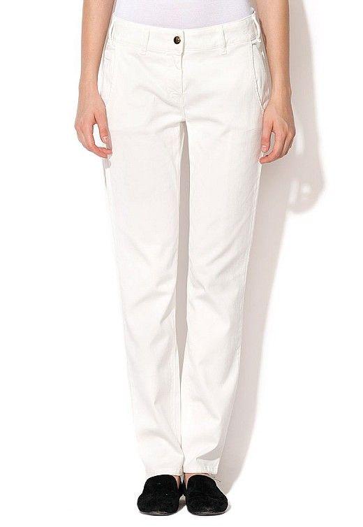 pantaloni albi pollon http://pretoferta.ro/pantaloni-albi-pollon
