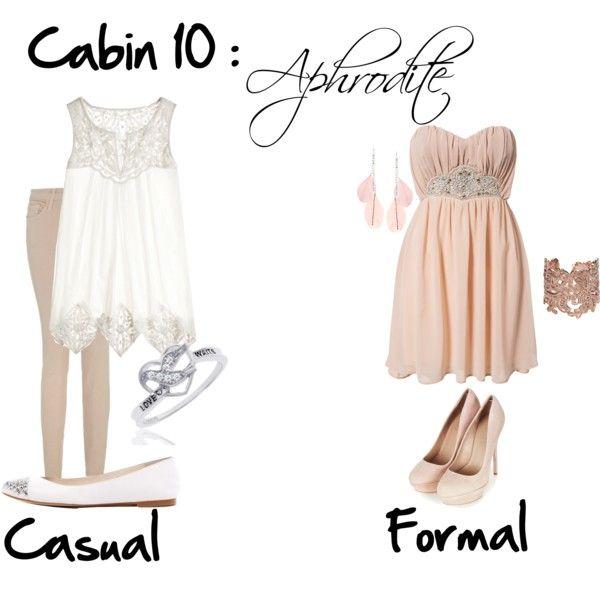 """Cabin 10: Aphrodite"" by idmiliris on Polyvore"
