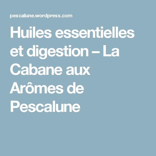 Huiles essentielles et digestion – La Cabane aux Arômes de Pescalune