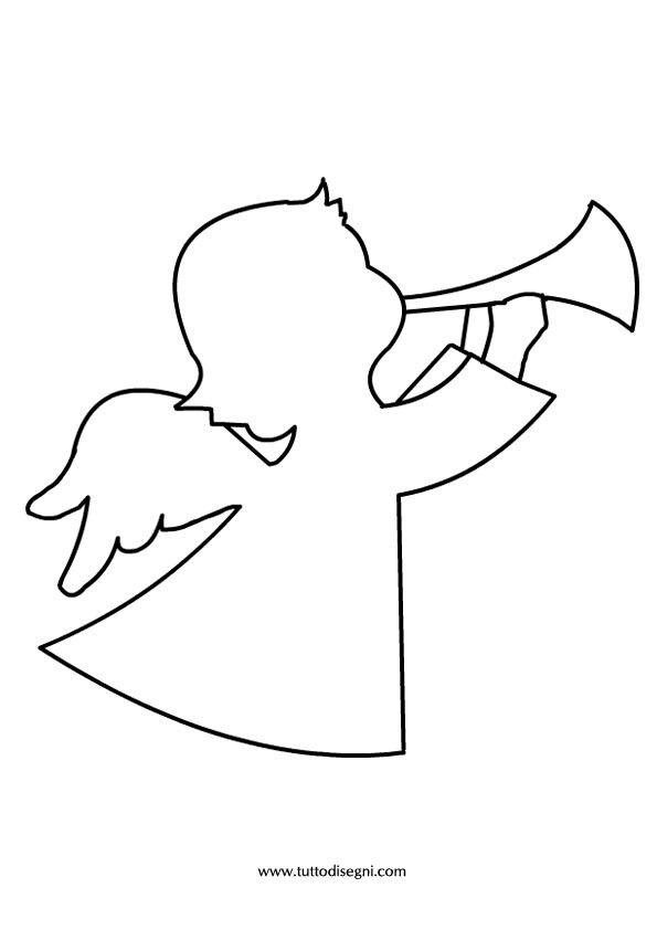 картинки ангелов шаблоны горки, высококлассный