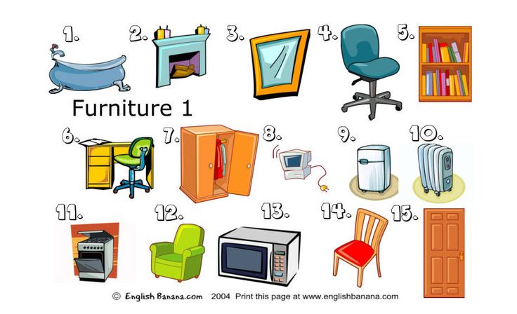 Furniture and Things in the House