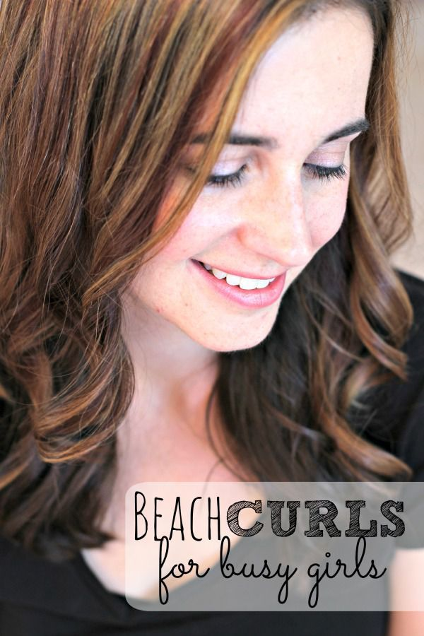 The 25 best beach curls ideas on pinterest how to beachy waves beach curls for busy girls urmus Image collections