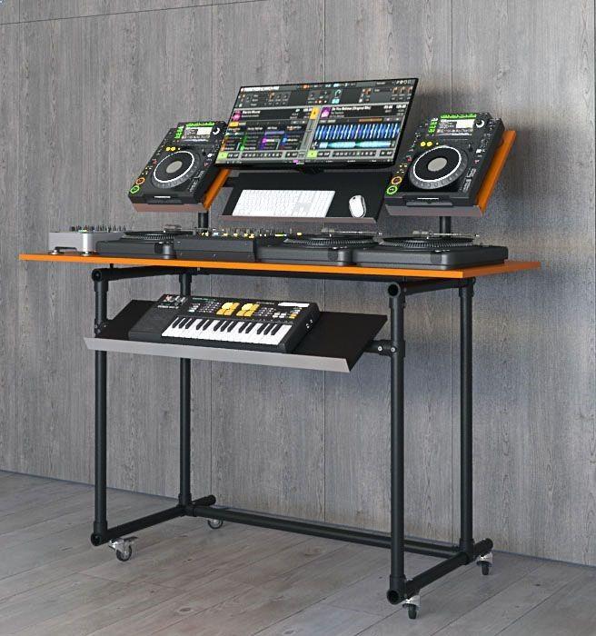 Dj Pult Bauen Technics Pioneer Cdj Dj Equipment Dj Room Dj Table
