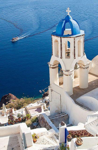 Santorini, Greece by nikosglykeas