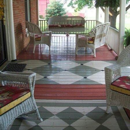 54 best Can\'t Refinish Your Wood Floors? Try Painting Them images on ...