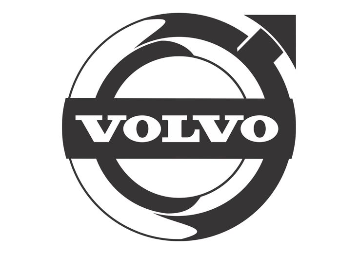 логотип вольво для плоттера