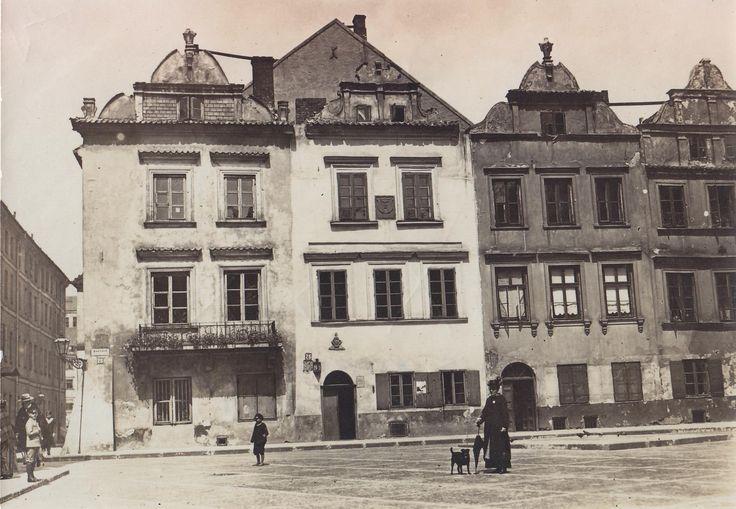 Warszawa - ul. Kanonia-Kamieniczki Staromiejskie (1912)
