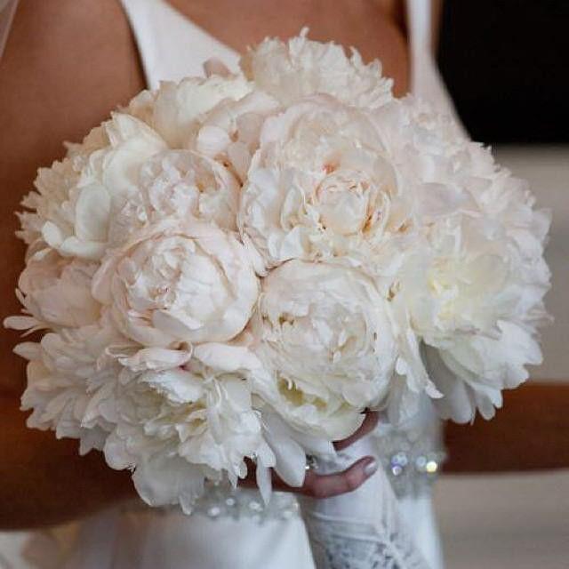 Bouquet da sposa candido.  Scopri @giftsitter, il nuovo servizio di liste regalo online cliccando sul link in bio.  #bouquet #peonie #ifioridellasposa #Giftsitter #wedding #matrimonio #nozze #bridal #romance #inspiration #instawedding #listanozze