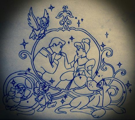 Disney Tattoo Design #5 by IcyRose13.deviantart.com on @deviantART