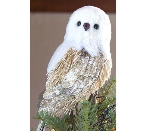 Owl Christmas Tree Topper
