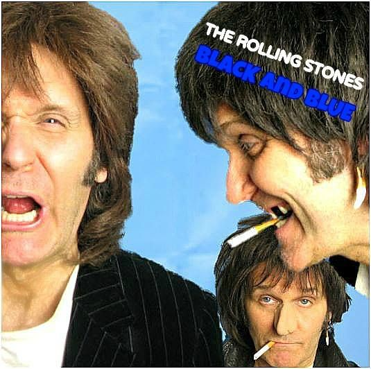 StevieRiks Re-Imagined Album Series No5 - TheRollingStones - Black and Blue