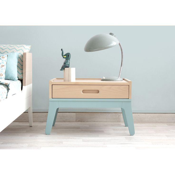 Table De Chevet Original #15: Table De Chevet Design, Original Et écologique. Nobodinoz Conçoit Du  Mobilier Enfant Moderne Et