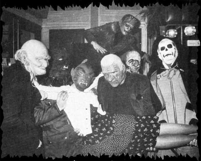 Monster Mash.... GOOOOODDD!!! Vintage halloween photos