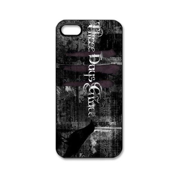 EVA Three Days Grace iPhone 5 Case,Snap-On Protector Hard Cover for... ($12) ❤ liked on Polyvore featuring accessories, tech accessories, phones and prepaid smartphones