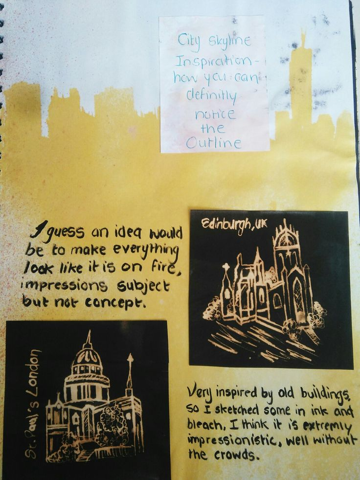 High School Art Diary Ideas 2016 Grade 11 Term 3 Theme: Impressionism