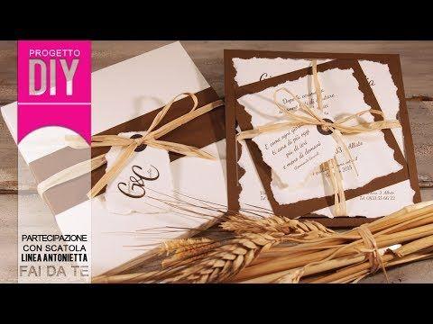 VANY DESIGN - Design esclusivo & progetti fai da te per eventi speciali: [MATRIMONIO FAI DA TE] Tutorial Partecipazione Antonietta - progetto #18