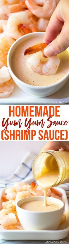 The BEST 5-Ingredient Homemade Yum Yum Sauce Recipe (Japanese Shrimp Sauce) via @spicyperspectiv
