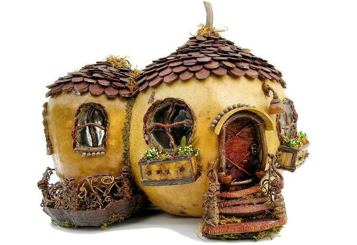 1000 images about pumpkin fairy houses for halloween on for Hallmark fairy door