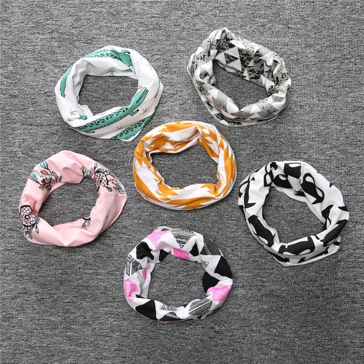 SR092 Baby Scarves Children Scarves Ring Scarves Neckerchief Girls Of Baby Boys Panda Fox Fashion Accessories Silencer For Child