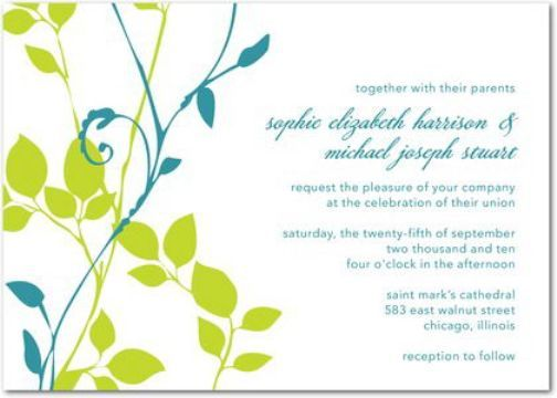 Informal Wedding Reception Invitations Wording: 23 Best Images About Wedding Invitation Wording On