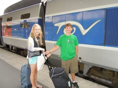 To Europe With Kids: Ten Random Train Travel Tips