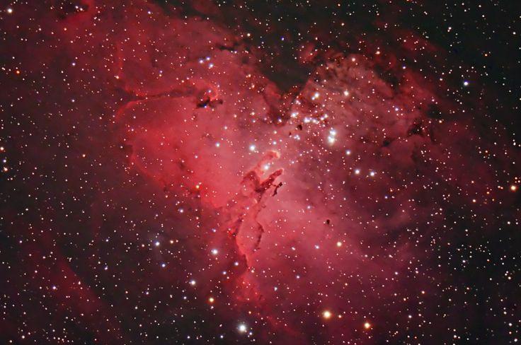 M16 The Eagle Nebula by Stardaug. Ontario, Canada