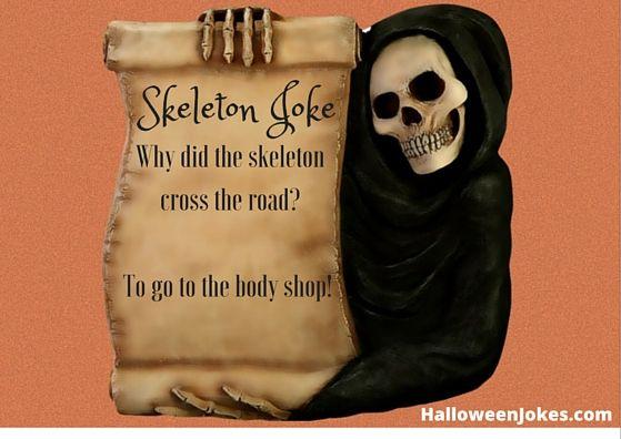 Skeleton Jokes 4 - Halloween Humor