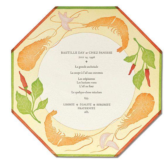 patricia curtan: menus for chez panisse
