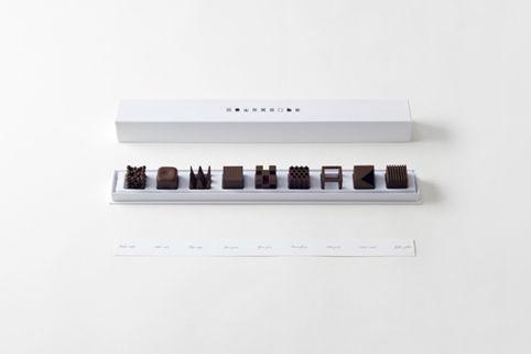 Japanese consultancy Nendo has designed a geometric box of chocolates
