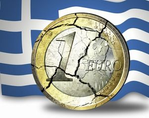 Who is at fault for the Greek debt crisis?