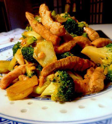 Wat ik gegeten heb: Chinees varkensvlees met broccoli