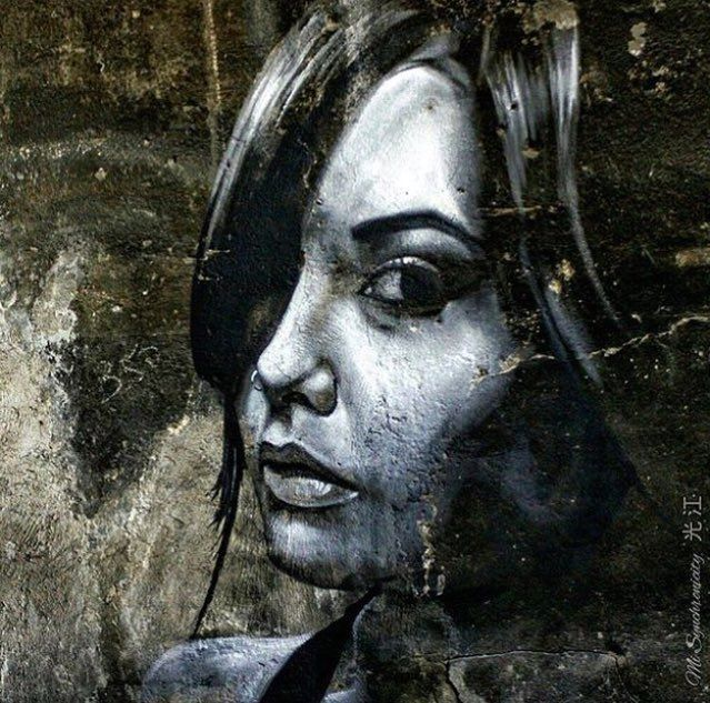 Street Art by William Mophos   #art #graffiti #mural #streetart https://t.co/zs8g7RN2J6