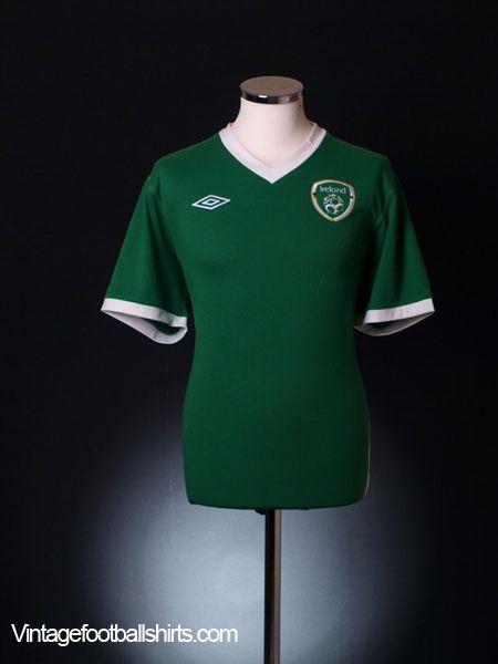2010-11 Ireland Player Issue Home Shirt *BNWT* L