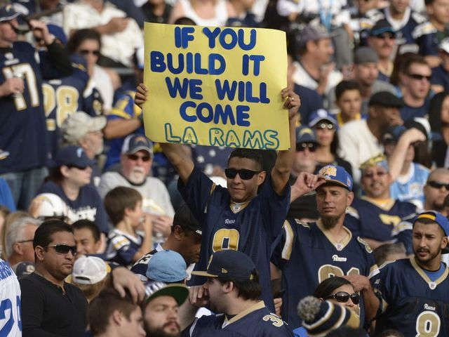 Rams moving back to Los Angeles with Chargers given option to join
