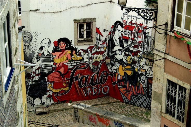 #Fado #Streetart #Lisboa