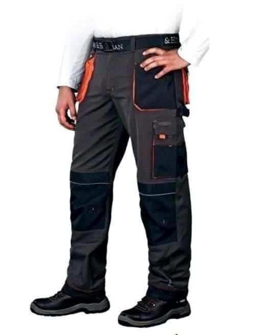 Work Trousers Mens Cargo Combat Style Work Wear Pants Knee pads pockets | eBay