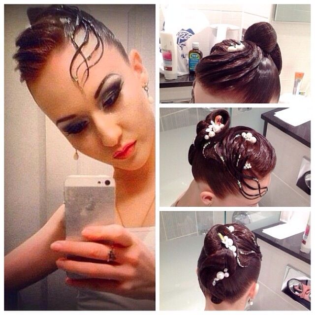 Miraculous 1000 Images About Ballroom Hairdo Inspirations On Pinterest Hairstyles For Men Maxibearus