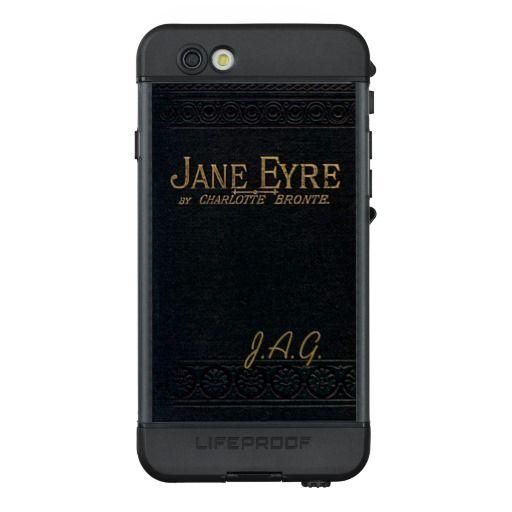 Jane Eyre Classic Antique Book Monogram LifeProof® NÜÜD® iPhone 6s Case