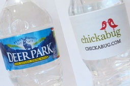 Handy guide to printing water bottle labels: Water Bottle