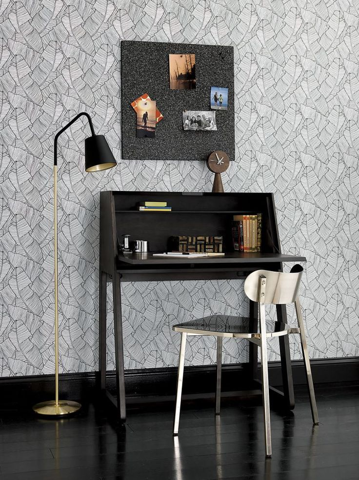 Fold-down desks are perfect for compact spaces. Not only do they maximize square footage by neatly folding away when the room is needed for other tasks, th