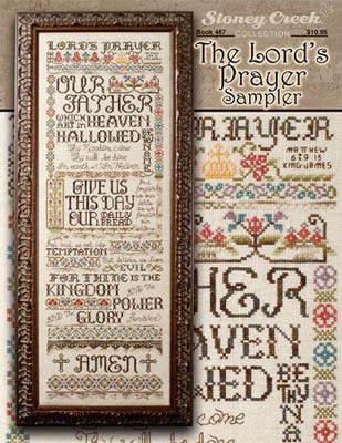 Lord's Prayer Sampler, The - Cross Stitch Pattern